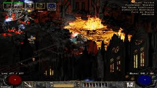 Path of Diablo S7 (Diablo 2 mod) - HC Necromancer 1 walkthrough part 10 ► 1080p 60fps No commentary