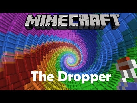 MINECRAFT Adventure-Map # 1 - The Dropper «» Let's Play Minecraft | HD