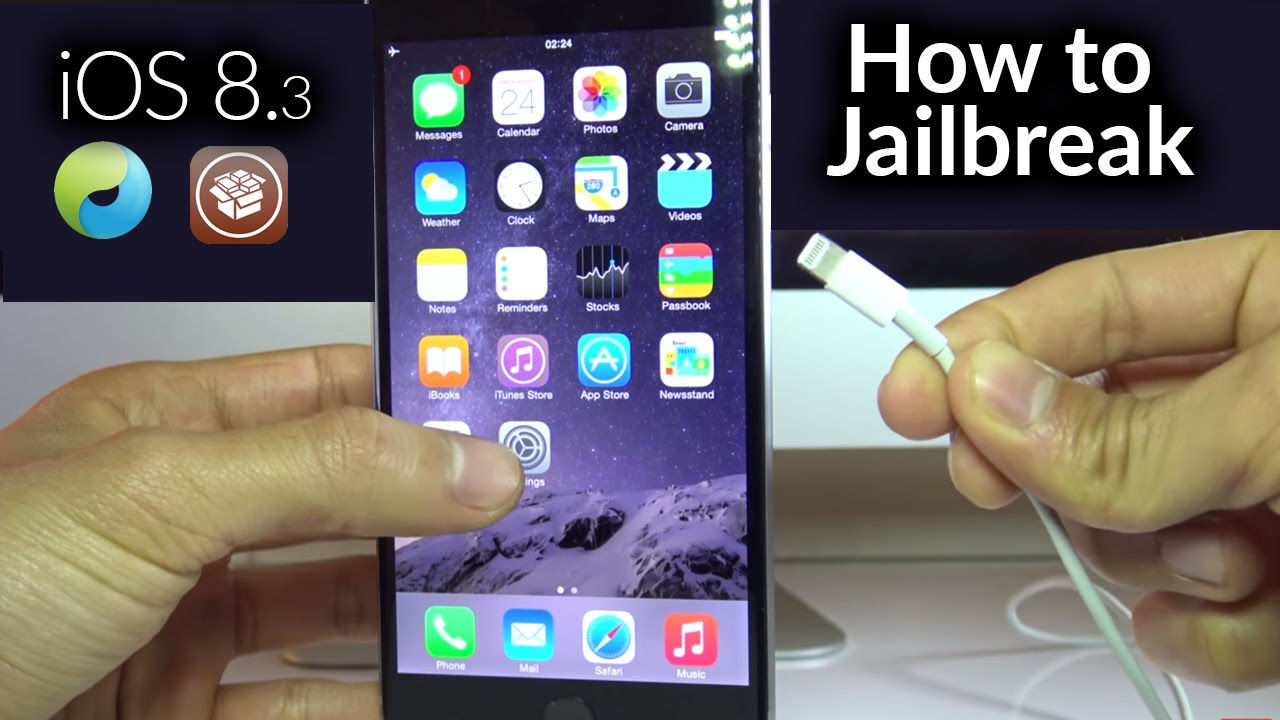 How To Jailbreak Iphone 6 iOS 8.3 - For iPhone 6 / iPhone 5s