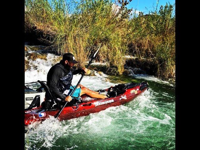 Kayak Bass Fishing- Jackson Coosa HD Review