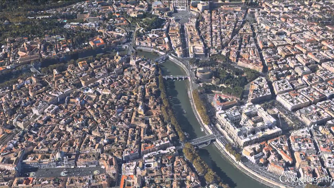 New 3d imagery of rome in google earth 7 youtube new 3d imagery of rome in google earth 7 gumiabroncs Choice Image