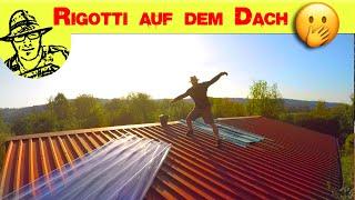 Nicht nachmachen: Verrückte Dachreparatur 😮🙈