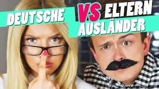 Deutsche vs. Ausländische Eltern mit Dima | Shirin David