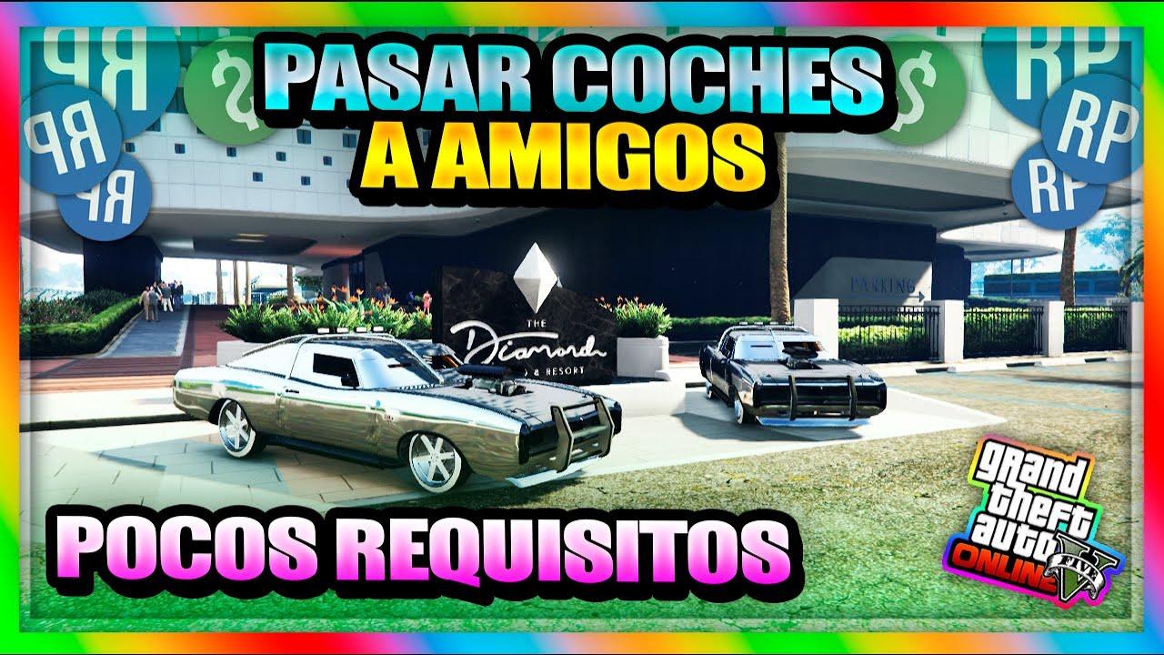 """*SUPER TRUCAZO* COMO PASAR COCHES A AMIGOS MASIVO/2MIN """"POCOS REQUISITOS""""  [TRUCO GTA V Online 1.50]"""
