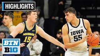 Highlights: Garza Scores 33 in Upset | Michigan at Iowa | Jan. 17, 2020