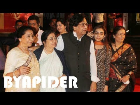 Asha Bhosle Family Photos    Father, Mother, Sister, Brother, Spouse, Son & Daughter!!!
