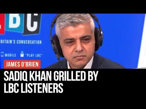 Speak To Sadiq: Mayor Sadiq Khan Grilled By LBC Listeners - LBC
