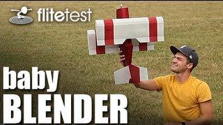 Flite Test - Baby Blender Biplane - REVIEW
