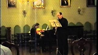Paul Hindemith - Clarinet Sonata (II.Lebhaft)