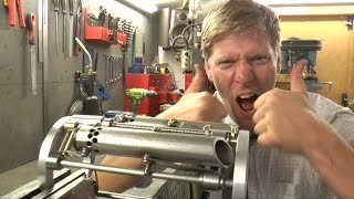 Weaponised arm Gauntlet Deus Ex Mankind Style Making of #1 chassis and rocket launcher
