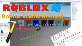 ROBLOX STUDIO GUIDE | DIGITAL LOTTO CONSTRUCTION (MATH RANDOM)