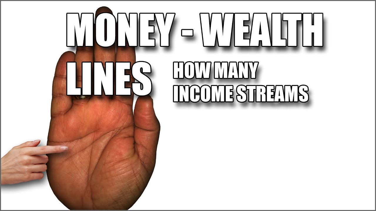 how to read palm lines for money