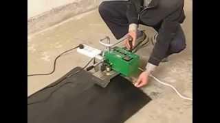 видео Оборудование для сварки геомембраны