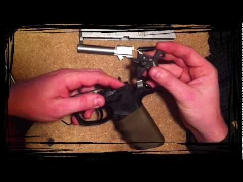 Disassembly of an FNP40 handgun