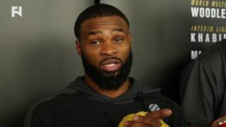 UFC 209: Tyron Woodley Pre-Fight Media Scrum - 'I Close the Chapter' on Stephen Thompson