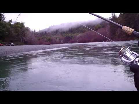 Steelhead fishing Chetco River