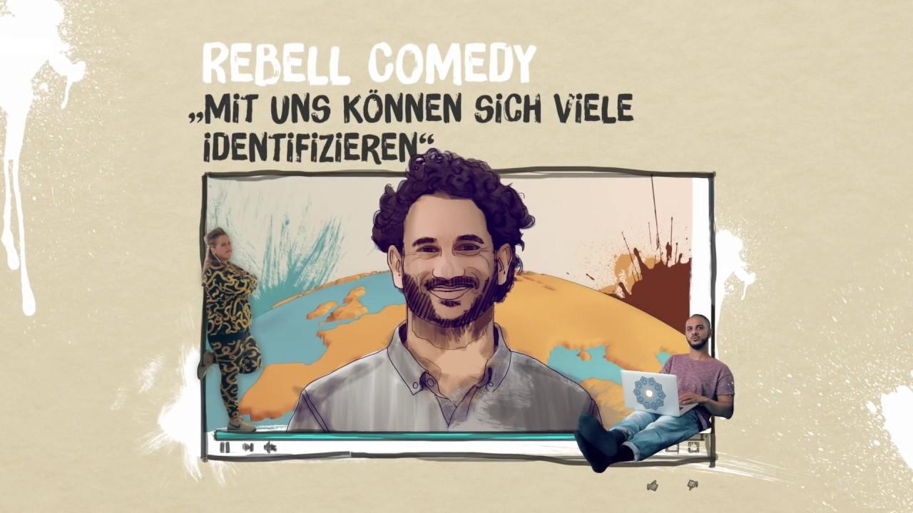 """Rebell Comedy - """"Mit uns können sich viele identifizieren"""""""