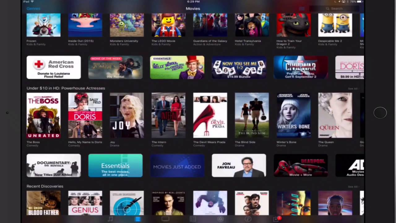how to add movies to ipad from itunes