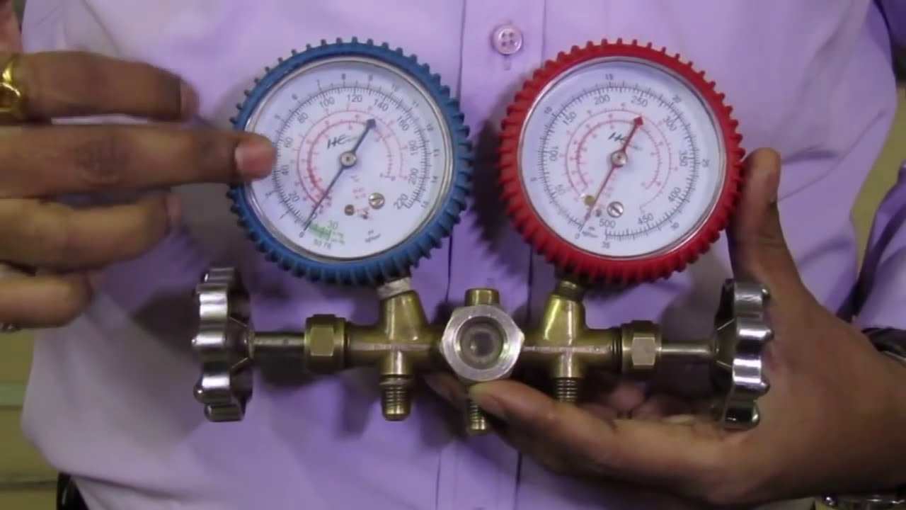 Working of pressure gauge in Hindi प्रेशर गेज का ...