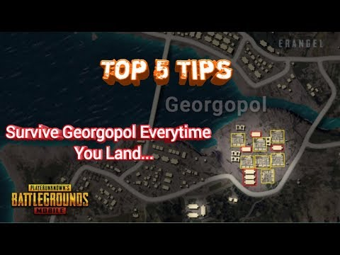 Pubg Mobile : How To Survive Georgopol Everytime Like A Pro | Best Tips & Tricks