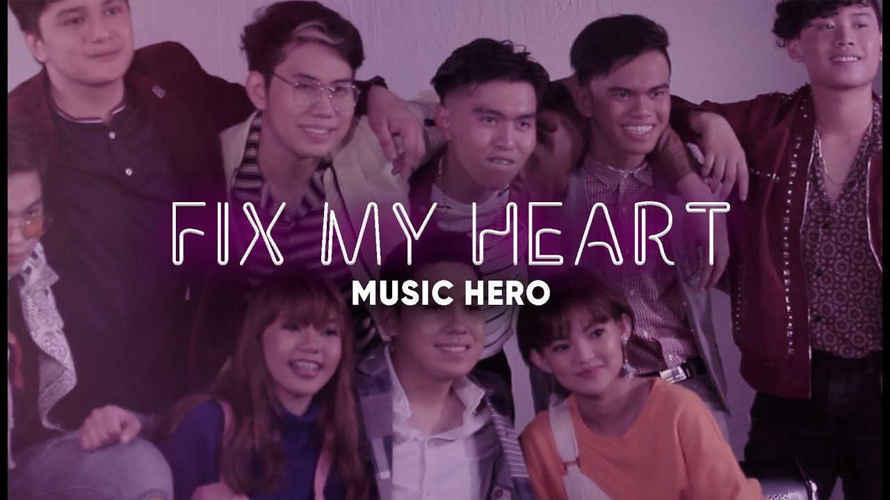 FIX MY HEART (Lyric Video) | Music Hero