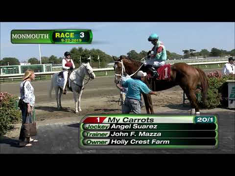 video thumbnail for MONMOUTH PARK 9-22-19 RACE 3