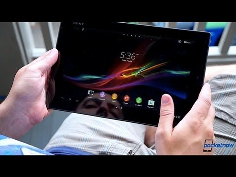 Day one with the Sony Xperia Tablet Z | Pocketnow