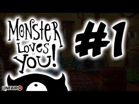 Let's Play Monster Loves You!  #1 - I'm A Monster... RAWR!