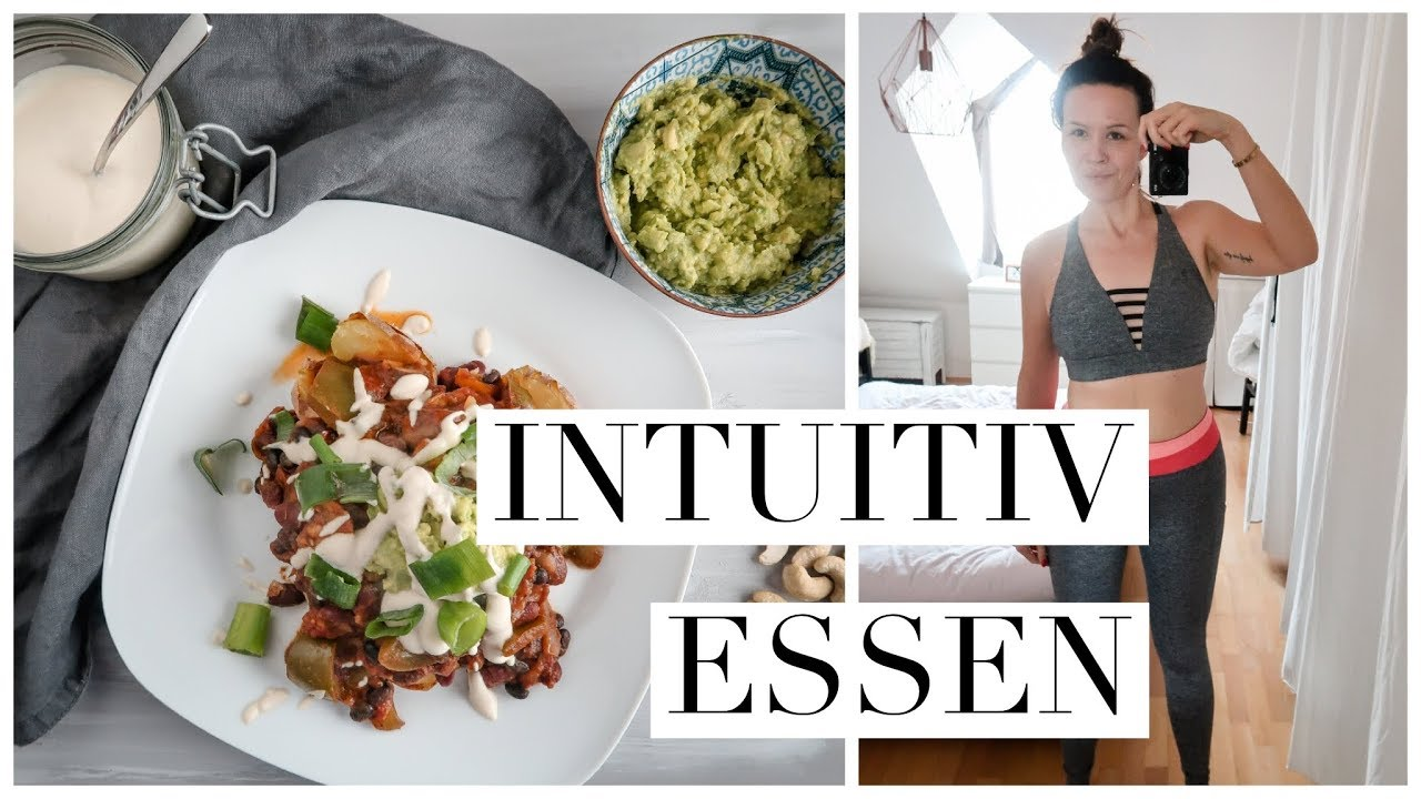 intuitiv essen abnehmen ohne di t hunger anf ngertipps zum ern hrung umstellen youtube. Black Bedroom Furniture Sets. Home Design Ideas