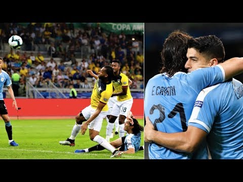Uruguay vs Ecuador [4-0], Copa America 2019 - FULL MATCH REVIEW