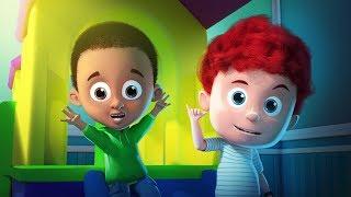 Beş Küçük Schoolies | Schoolies Çocuk Kanalı tarafından Bebekler İçin Video | Eğlenceli Çizgi film