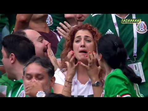 ⚽【FIFAロシアW杯2018】メキシコ王者を喰らう! まさかの前回王者の敗北 グループF ドイツVSメキシコ ハイライト