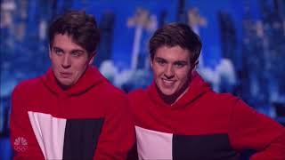 Gambar cover Mirror Image: America's Talented TWINS Want To Win Over Simon's Heart | America's Got Talent 2017