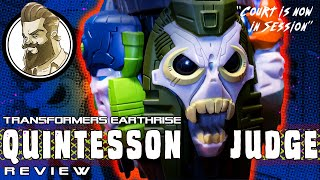 Transformers Earthrise Quintesson Judge Review - Court is now in session