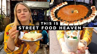 I ONLY ATE MUMBAI STREET FOOD FOR 24 HOURS!  ||  India Vlog
