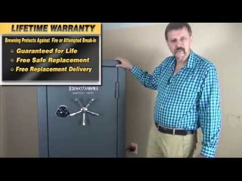Browning Gun Safe Review Review of the Browning Medallion Gun Safe