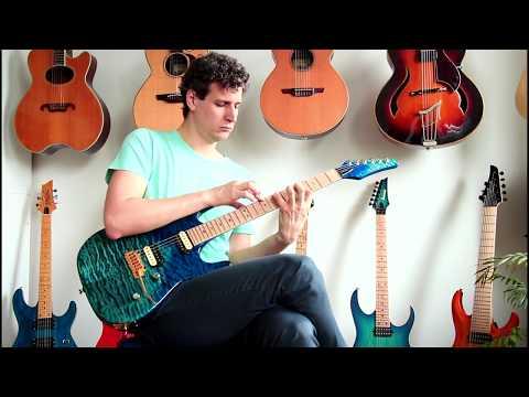 KIESEL Custom Guitar: Lithium Pickup Sounds & Final Words - PART 4
