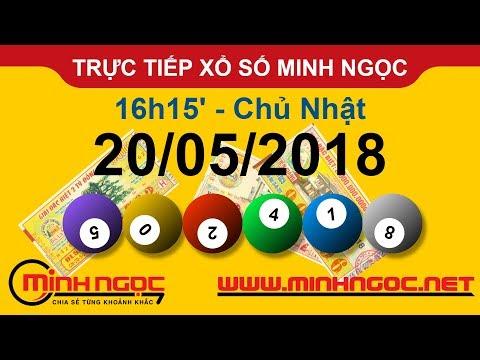 Trực tiếp xổ số MINH NGỌC CN Ngày 20-05-2018 - Kênh Youtube chính thức từ Minhngoc.net.vn