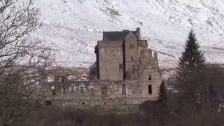 Winter Castle Campbell Dollar Clackmannanshire Scotland