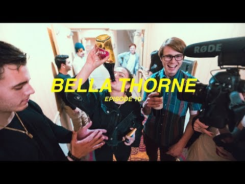 BELLA THORNE INVITED US TO HER HOUSE (feat. Too Turnt Tina) - EPISODE 10 - JUSTIN ESCALONA