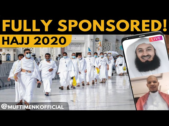 FULLY SPONSORED HAJJ 2020! The Fortunate Few II - Mufti Menk