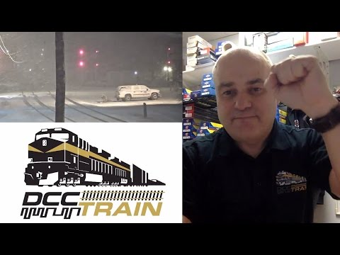 Real Big Trains Live Stream from train cameras workbench DCCTRAIN DCC analog on layouts 2017