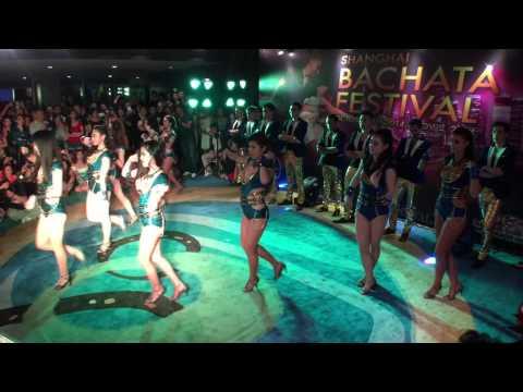 Hot Salsa Club Shanghai Team Performing at Shanghai Bachata Festival 2014
