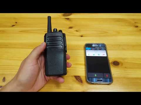 3G WiFi non-display walkie talkie with Azetti PTT