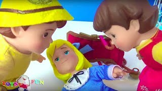 Bebek kafeste kim tuzağa düşürdü? Oyuncak nasıl kafese girdi?Cadı Malefiz tuzak kurdu Joker kurtardı