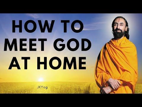 How to meet God at home   Be a true pilgrim (A spiritual secret)