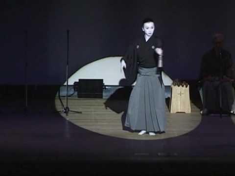 孝藤右近 黒田節 UkonTakafuji Samurai Dance