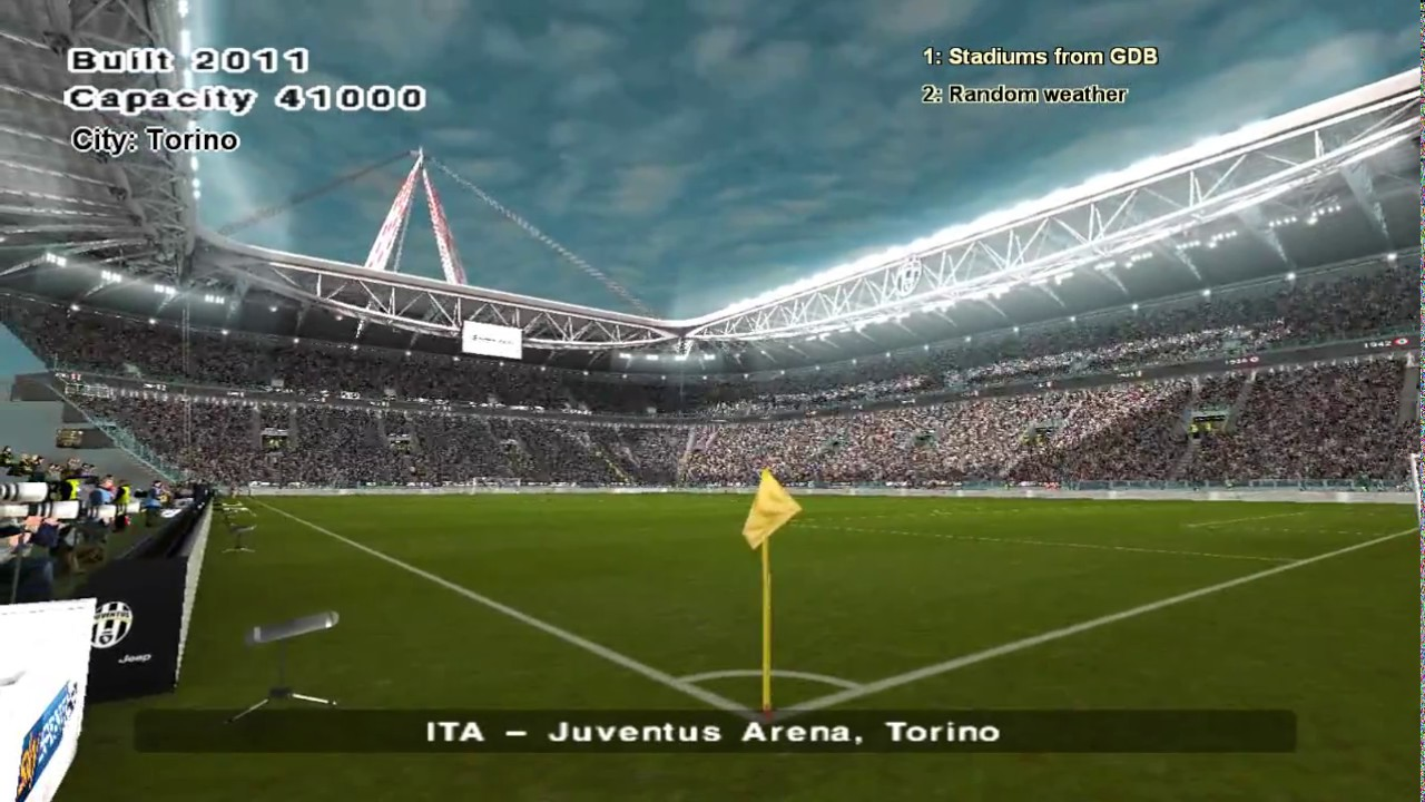 Juventus stadium pes 2019 cheats