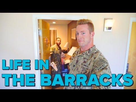 Barracks Life | Military Barracks Room Tour | Life in the Barracks