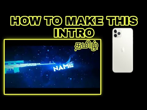 HOW TO CREATE INTRO ||TAMIL||ANDROID||2020||PANZOID